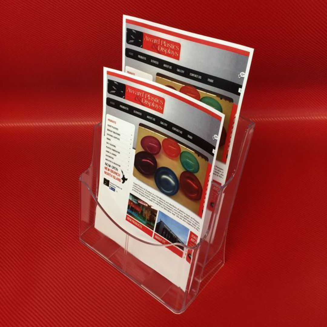 A4 2-Tier Brochure Holder image 1